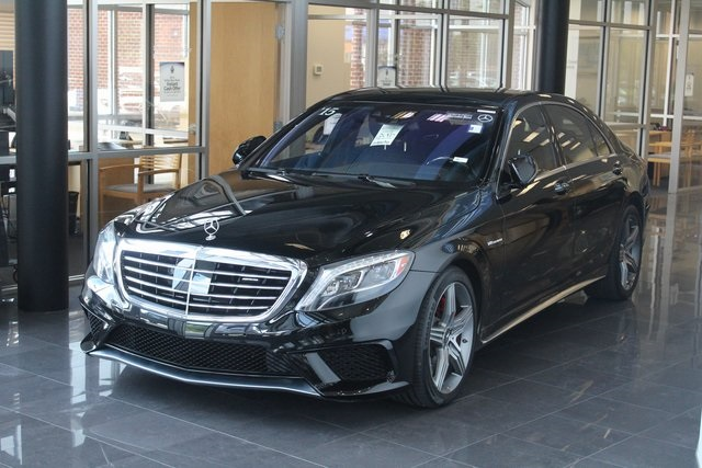 Certified Pre Owned 2015 Mercedes Benz S Class AMG® S 63 Long