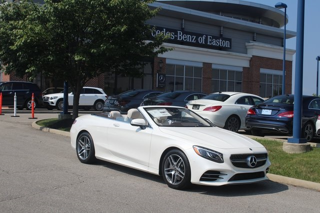 New 2018 Mercedes Benz S Class S 560 Sport Cabriolet In Columbus