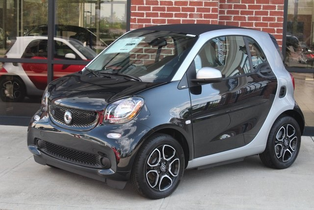 New 2018 Smart Fortwo Coupe Electric Drive