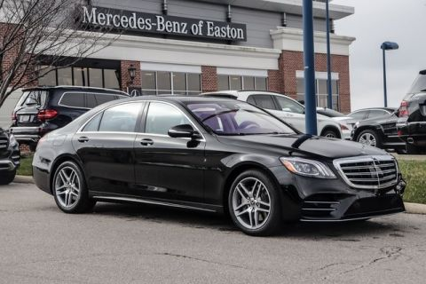 New 2020 Mercedes-Benz S-Class S 450 With Navigation & AWD 4MATIC®