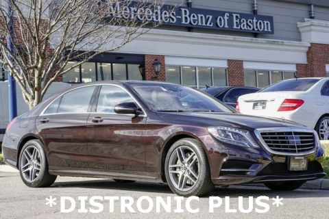 Certified Pre-Owned 2017 Mercedes-Benz S-Class S 550 Sport AWD 4MATIC®