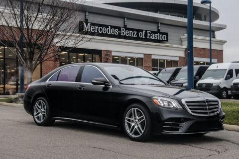 New 2020 Mercedes-Benz S-Class S 560 With Navigation & AWD 4MATIC®