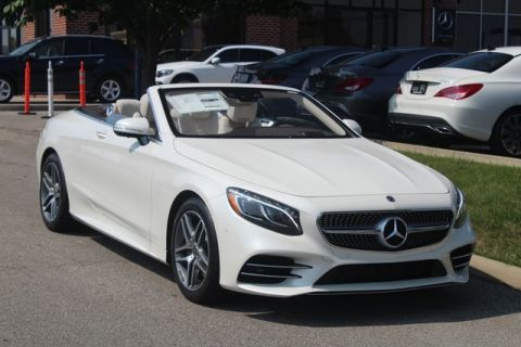 Certified Pre-Owned 2018 Mercedes-Benz S-Class S 560 Sport