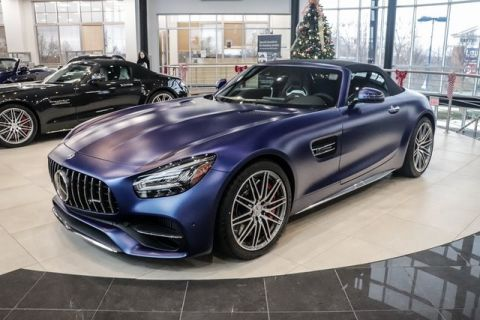 New 2020 Mercedes-Benz GT AMG® GT C Roadster With Navigation
