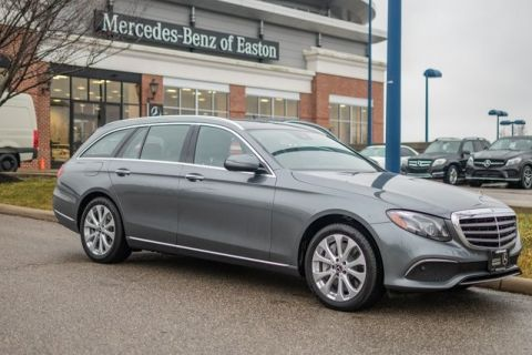 Certified Pre-Owned 2018 Mercedes-Benz E-Class E 400 Luxury AWD 4MATIC®